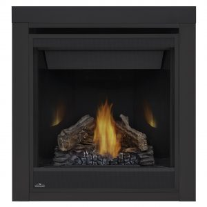 Ascent-B30-logs-PRRP-2-inch-trim-napoleon-fireplaces