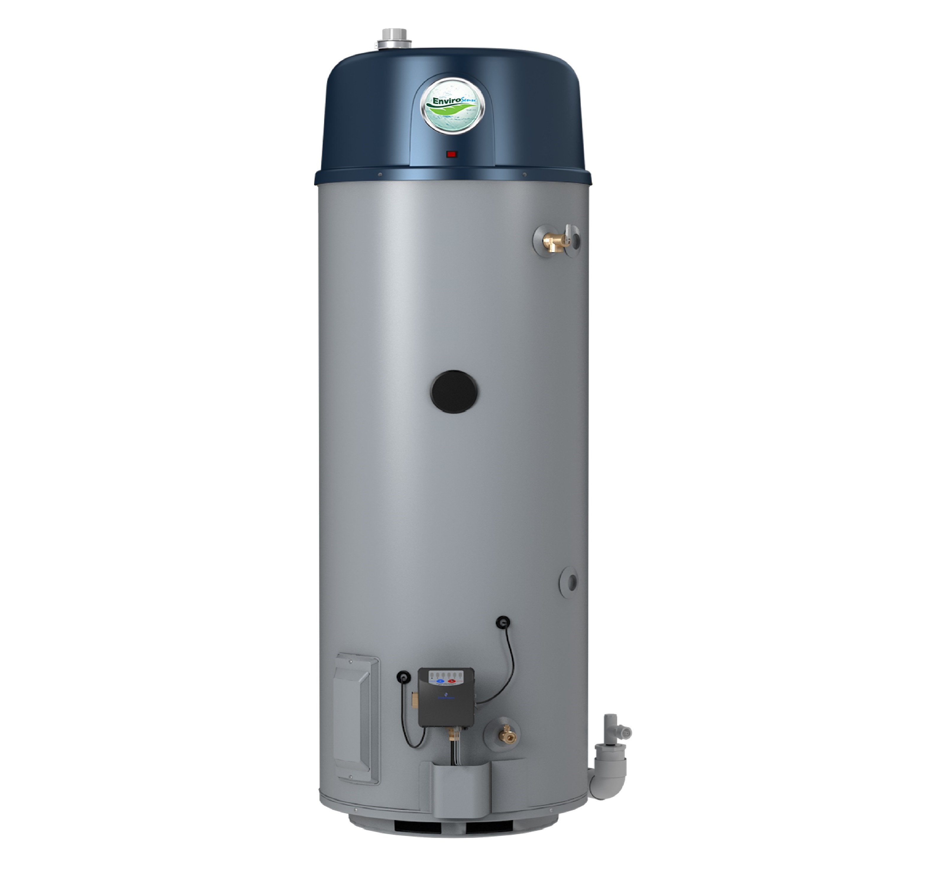 Gas Powered Ventilator : Envirosense power vent gas water heater em air systems inc